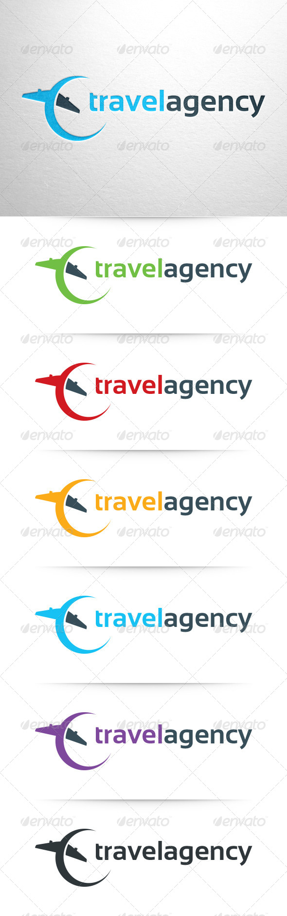 Travel Agency Logo Template - Objects Logo Templates