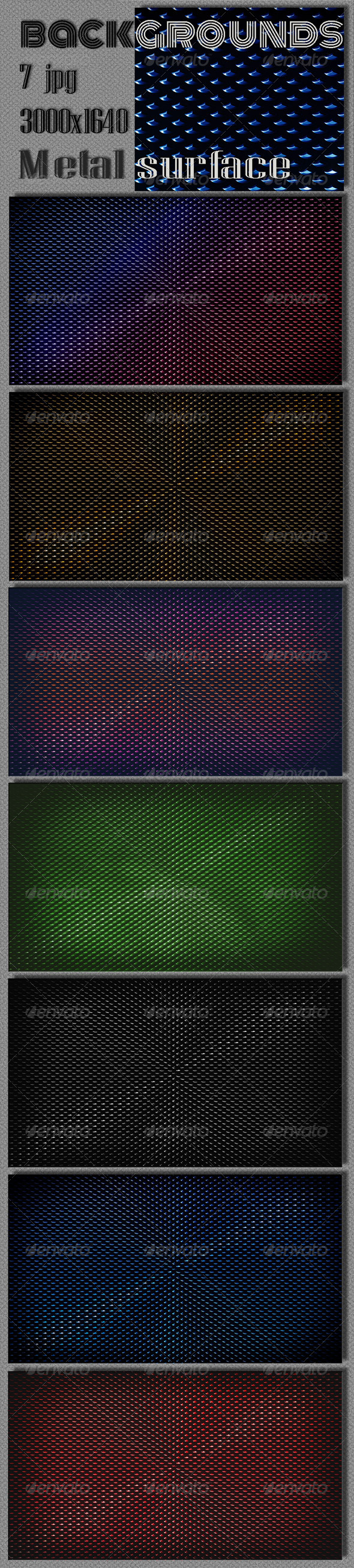 Dark Metal Surface Background - Tech / Futuristic Backgrounds