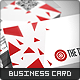 The Target Business Card - GraphicRiver Item for Sale