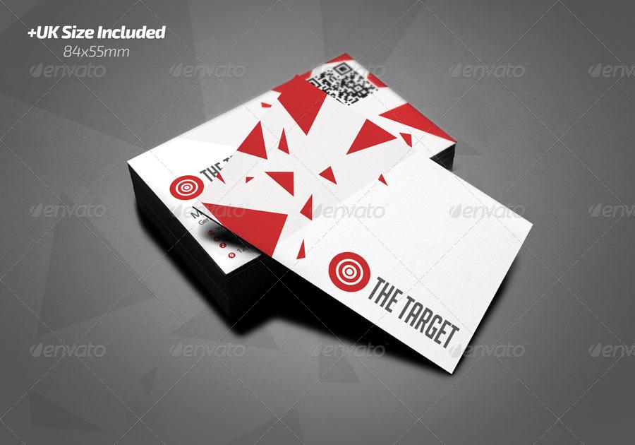 The target business card by rafaeloliveira2 graphicriver the target business card corporate business cards 01haltg 02hg 03vg 04vg colourmoves