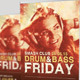 Drum and Base Friday Event Banner Template - GraphicRiver Item for Sale
