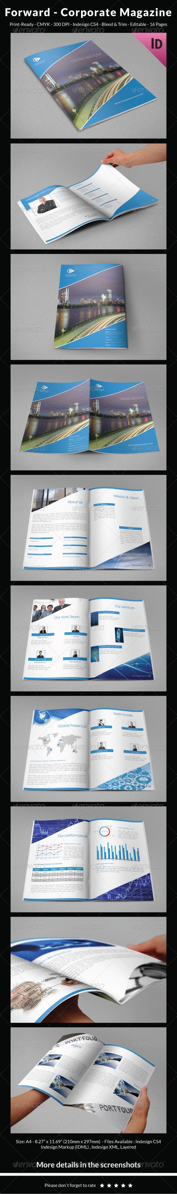 Forward - Company Magazine - Informational Brochures