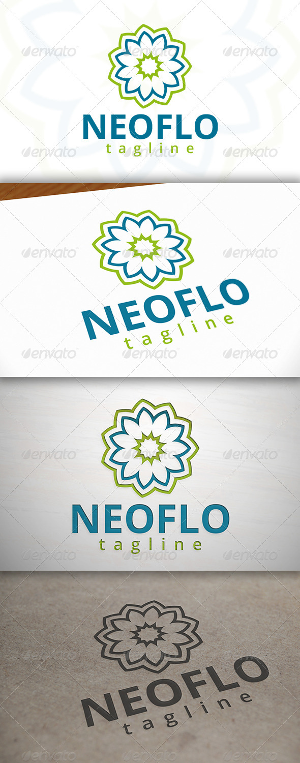 Flower Spa Logo - Nature Logo Templates