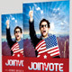 Join the Vote Event Banner Signage Template - GraphicRiver Item for Sale