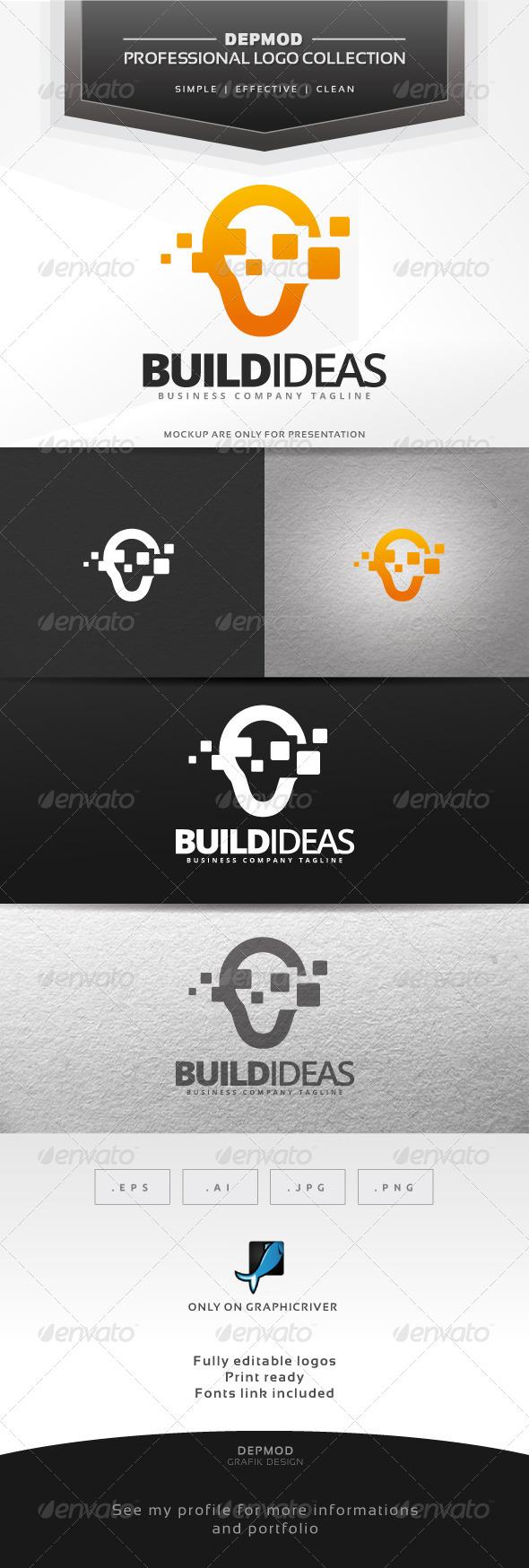 Build Ideas Logo - Symbols Logo Templates