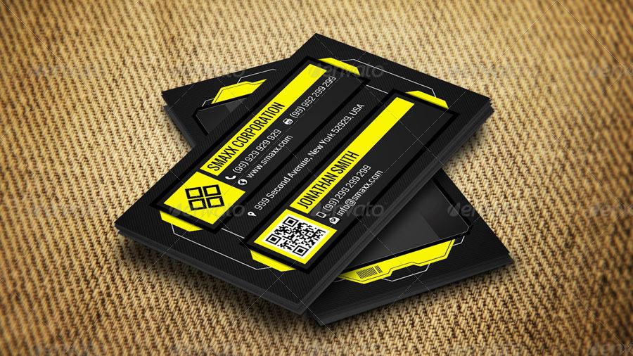 tech business cards