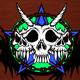 Triple Skull - GraphicRiver Item for Sale