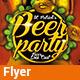 Beer Party - St. Partricks v01 - GraphicRiver Item for Sale