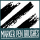 Marker Pen Brushes - GraphicRiver Item for Sale