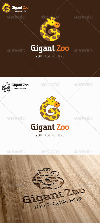 Gigant Zoo Logo Template - Animals Logo Templates