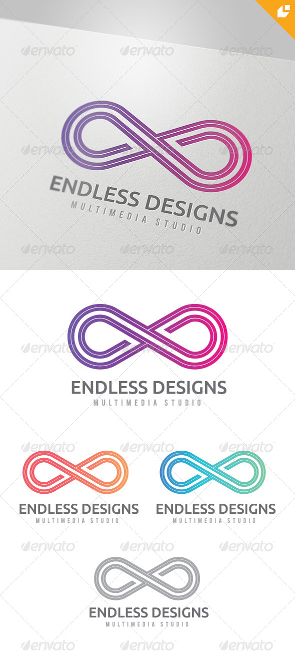 Endless Designs Logo - Vector Abstract