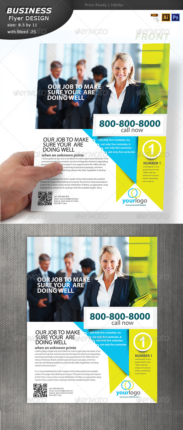 Business Handout Design  - Corporate Flyers