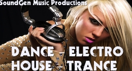 Dance, Electro-House and Trance Music Productions