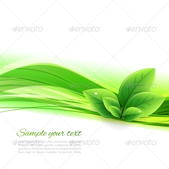 Abstract Nature Background - Miscellaneous Vectors