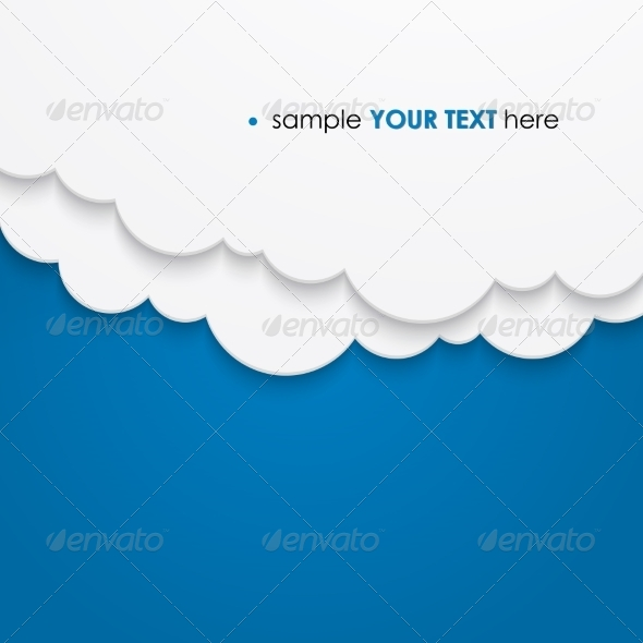 Abstract Cloud Background - Miscellaneous Vectors