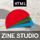 Zine- Responsive Parallax Business HTML5 Template Nulled