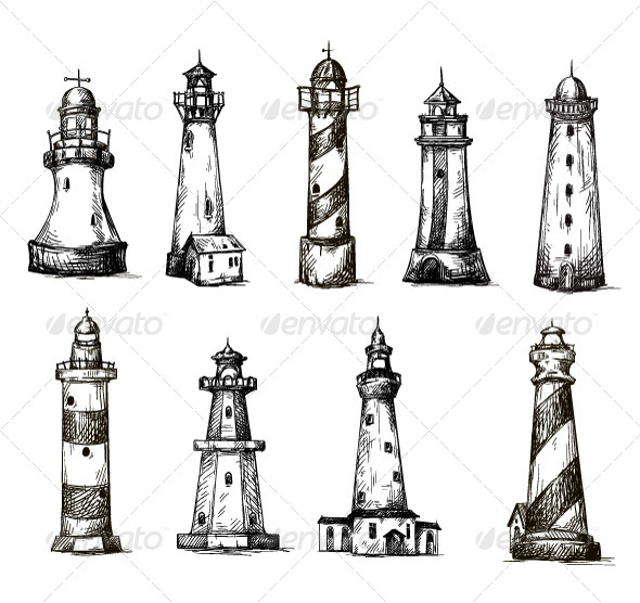 Lighthouses - Buildings Objects