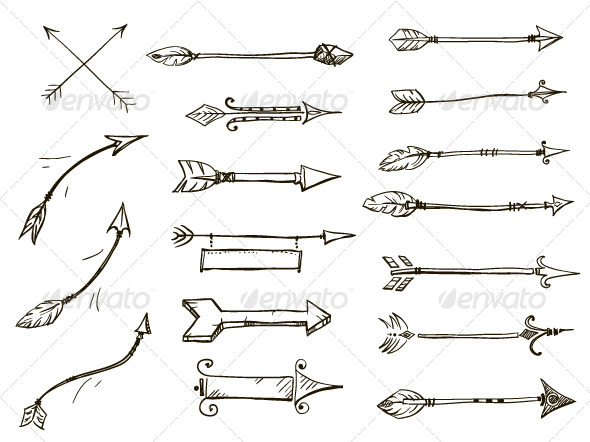 Arrows - Objects Vectors