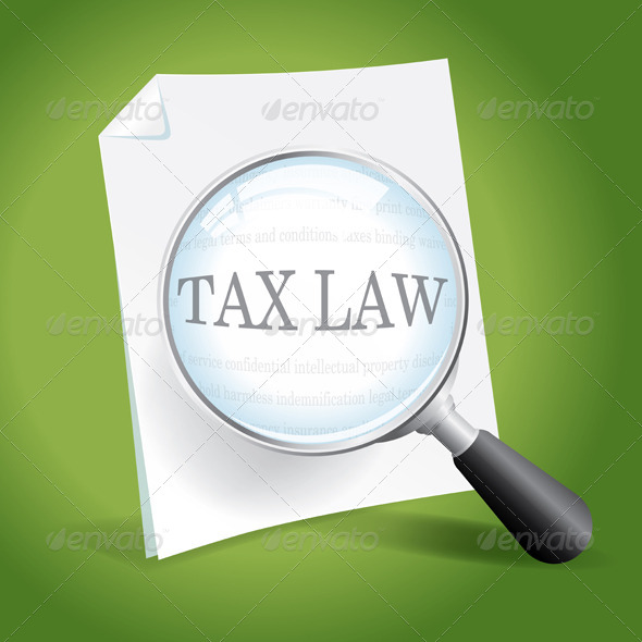Examining Tax Law - Conceptual Vectors