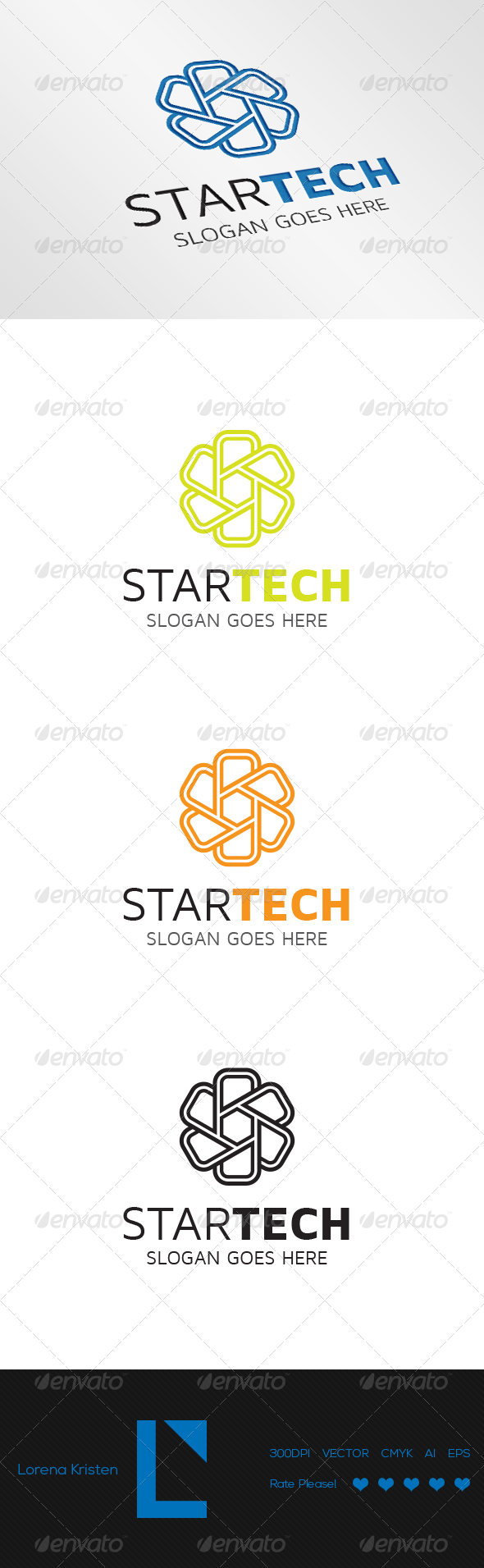 Star Tech - Logo Templates