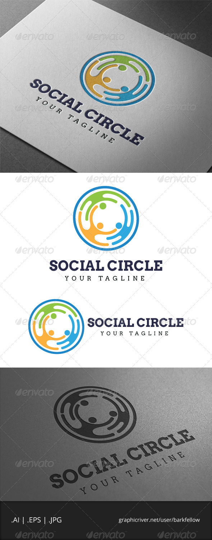 Social Circle Logo - Humans Logo Templates