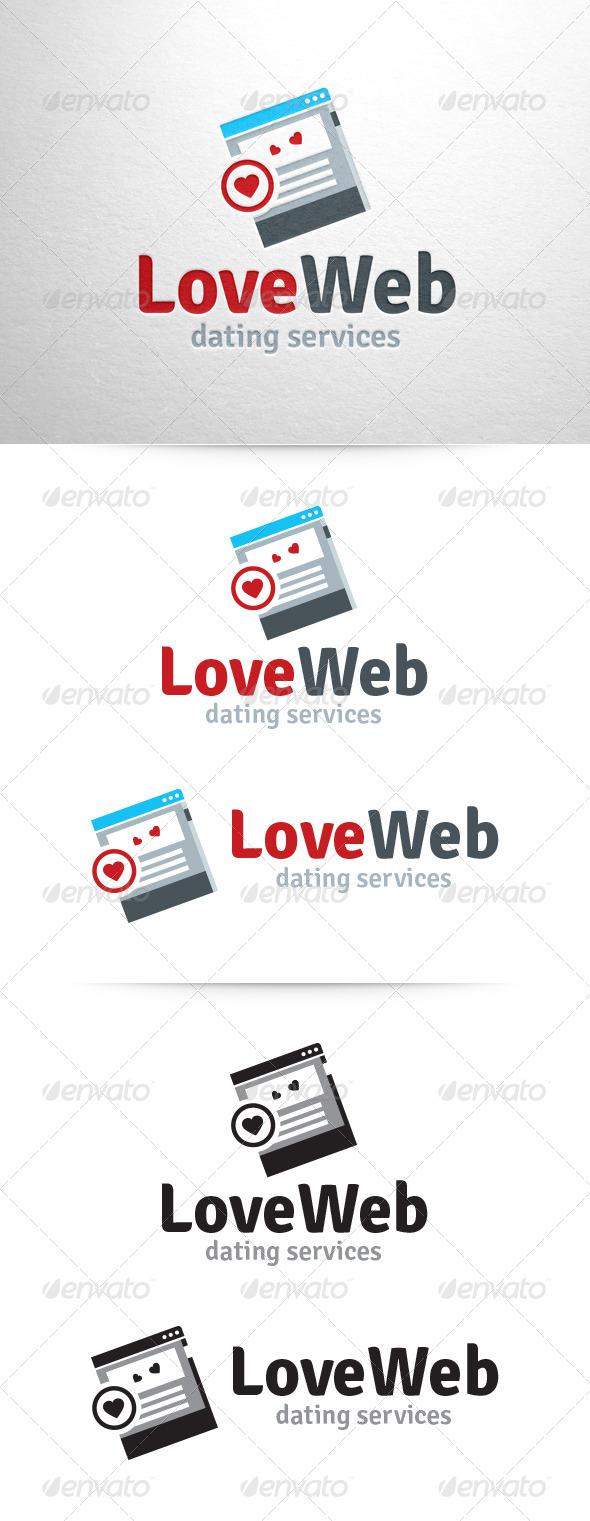 Love Web Logo Template - Symbols Logo Templates