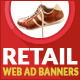 Retail Web Ad Marketing Banners - GraphicRiver Item for Sale