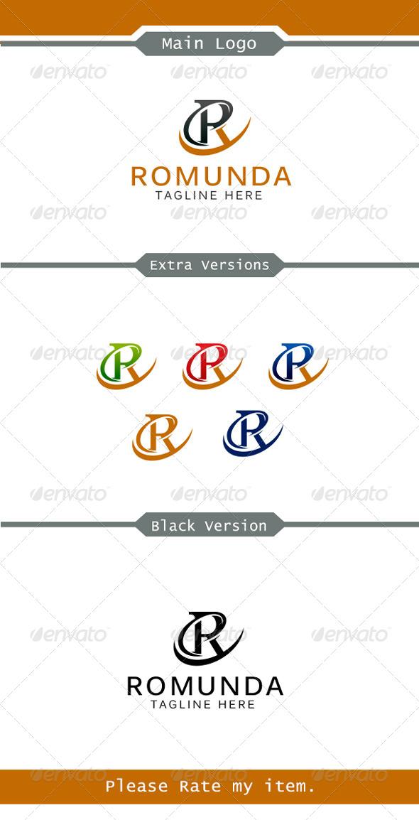 Romunda Logo  - Letters Logo Templates