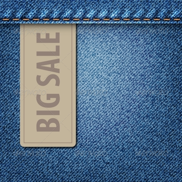Big Sale Jeans Background - Retail Commercial / Shopping