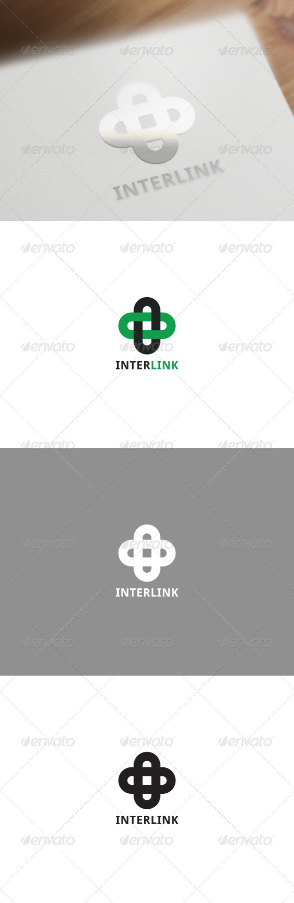 Interlink Corporate Logo - Symbols Logo Templates