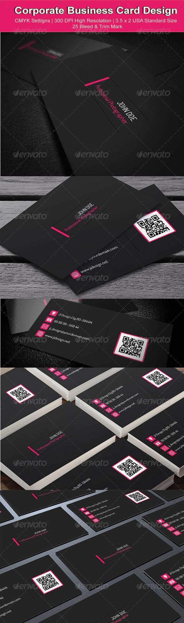 Corporate Business Card Design - Corporate Business Cards