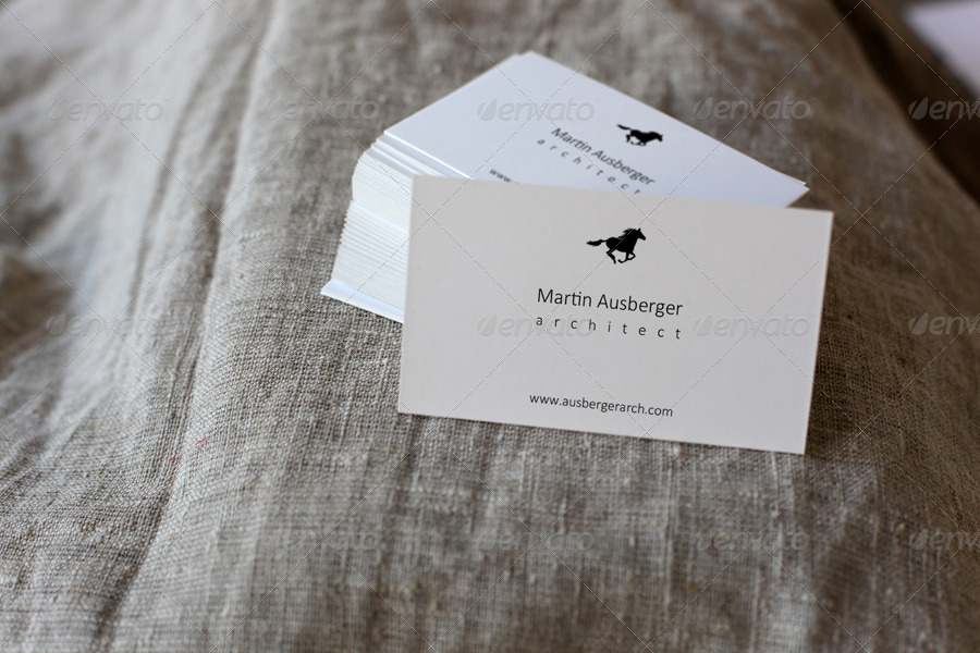 Business Card Mockup by amris | GraphicRiver