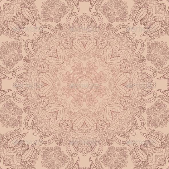 Pastel Lace Ornament - Patterns Decorative