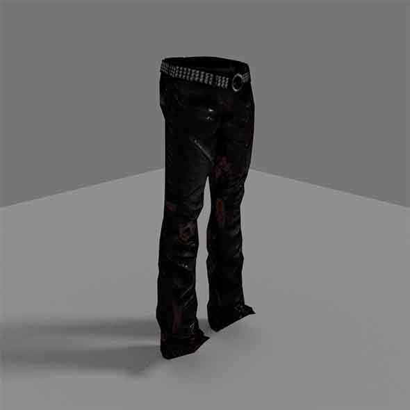 Zombie Pants - 3DOcean Item for Sale