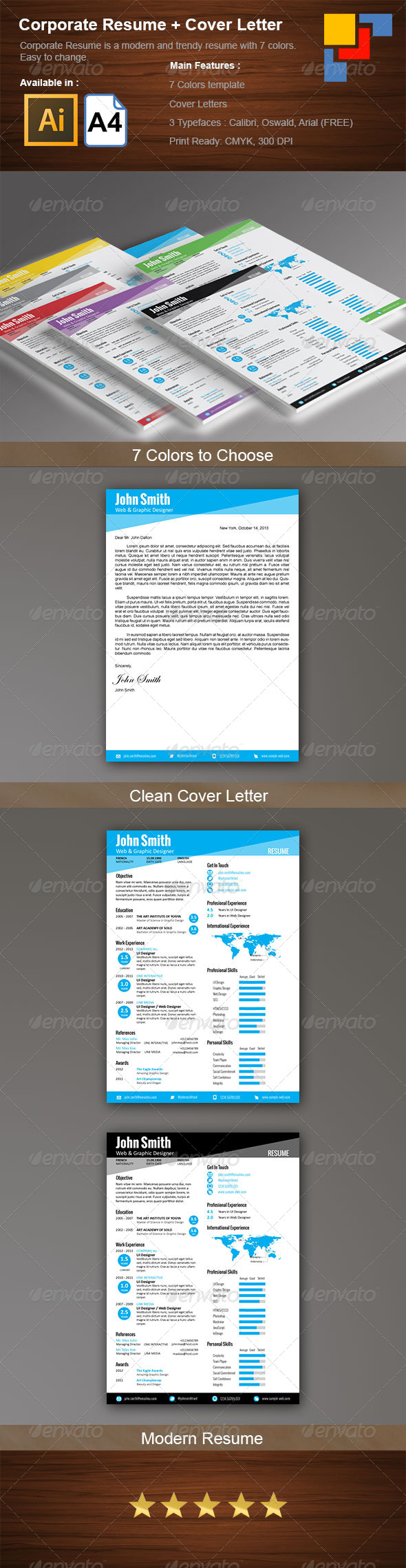 Corporate Resume - Resumes Stationery