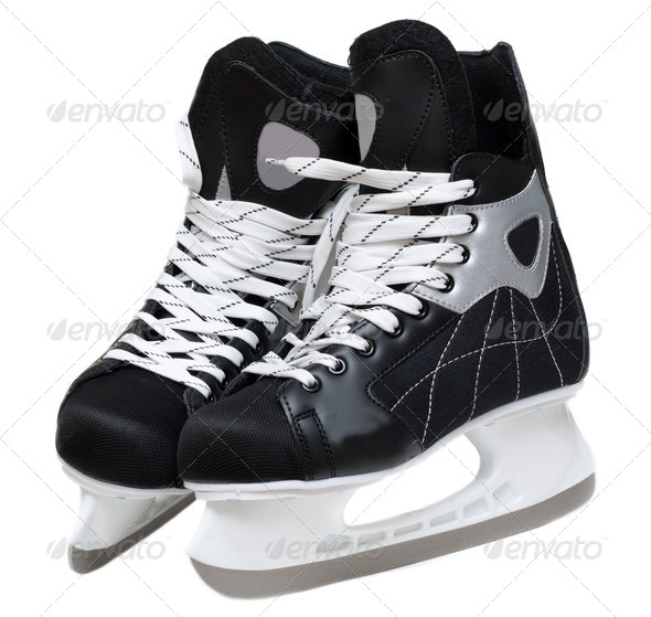 Skates hockey - Stock Photo - Images