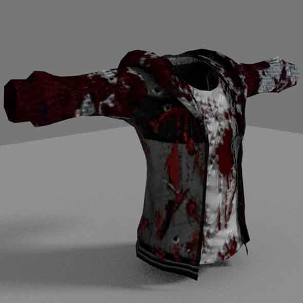 Zombie Jacket - 3DOcean Item for Sale