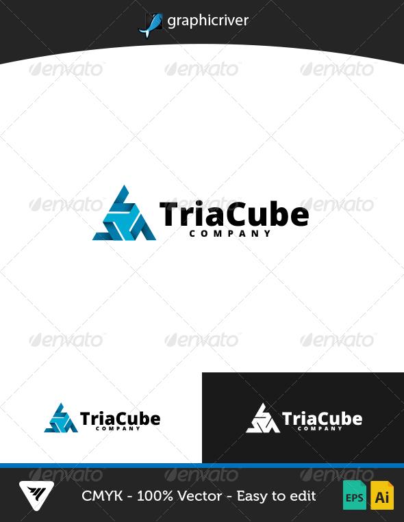 TriaCube Logo - Logo Templates