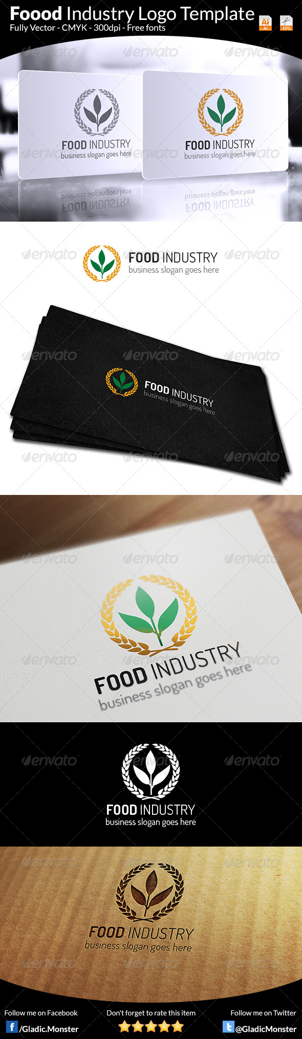 Food Industry Logo - Symbols Logo Templates