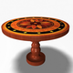Antique Round Table 12011 - 3DOcean Item for Sale