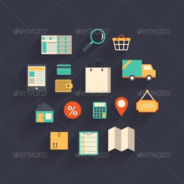 Ecommerce Elements - Retail Commercial / Shopping