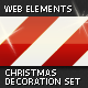 Christmas Decoration Set — Web Elements - GraphicRiver Item for Sale