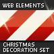 Christmas Decoration Set — Web Elements - GraphicRiver Item for Sale