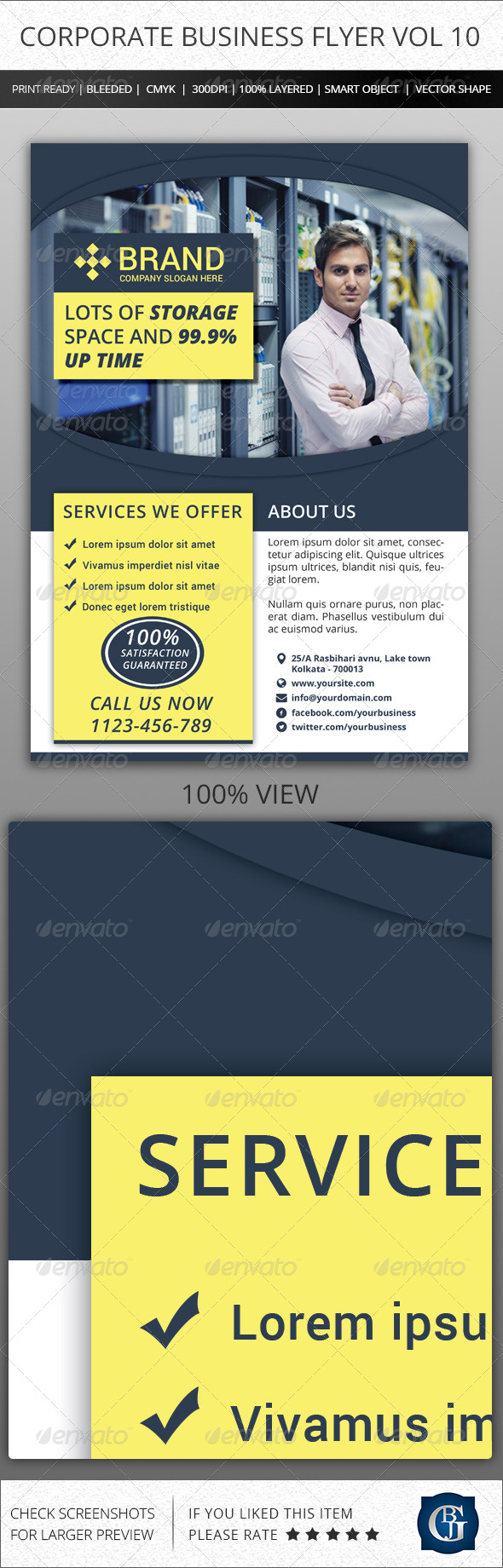 Corporate Creative Business Flyer Vol 10 - Corporate Flyers