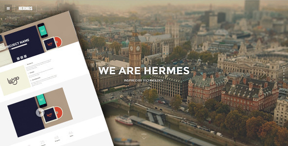 Hermes - Responsive Retina Ready HTML5 Template