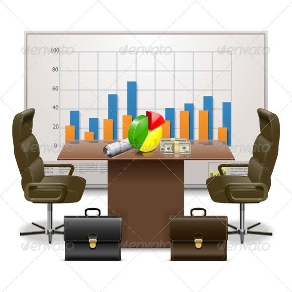 Vector Business Plan Concept - Business Conceptual