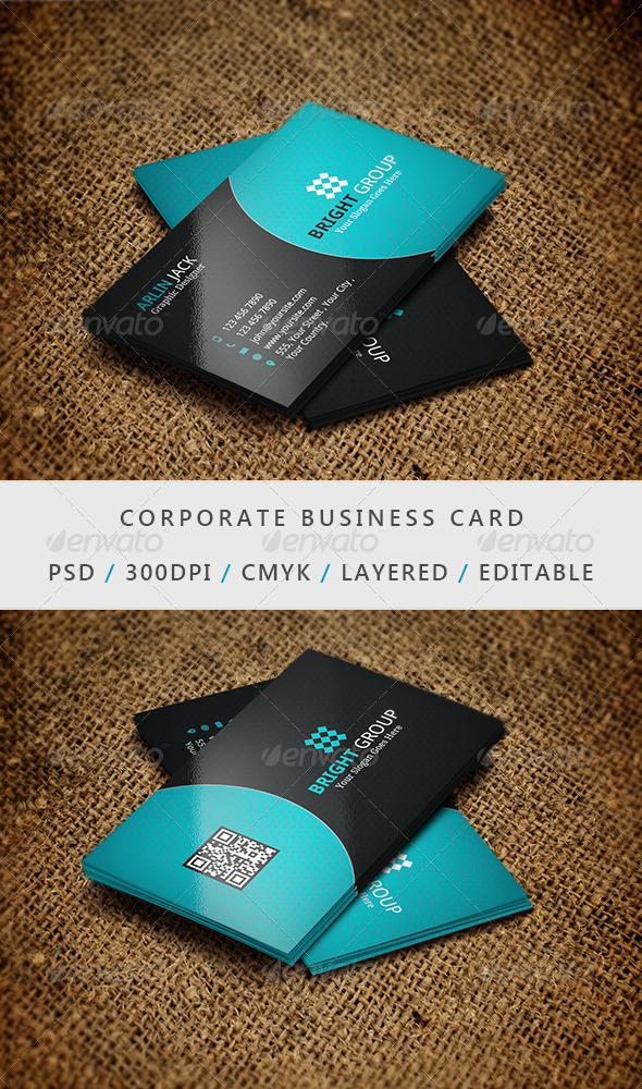 Business Card - 03 - Corporate Business Cards