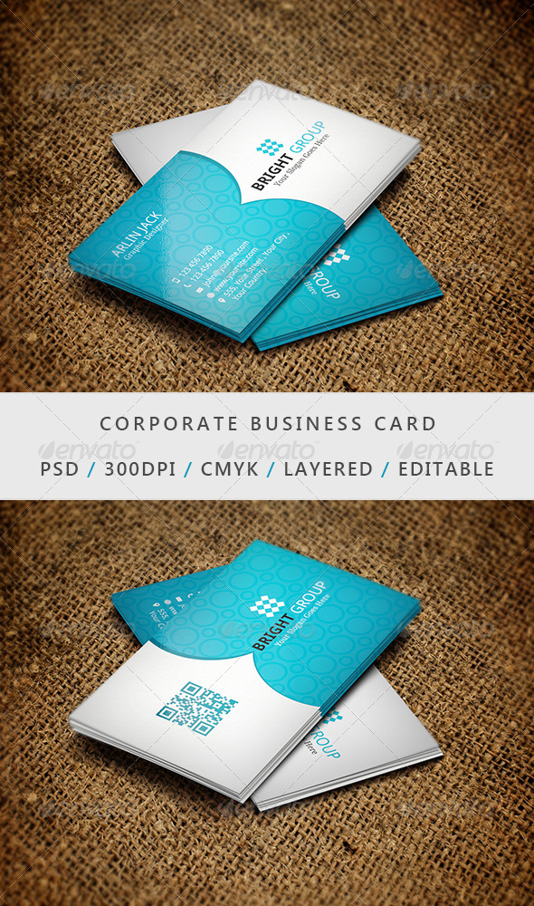 Business Card - 04 - Corporate Business Cards