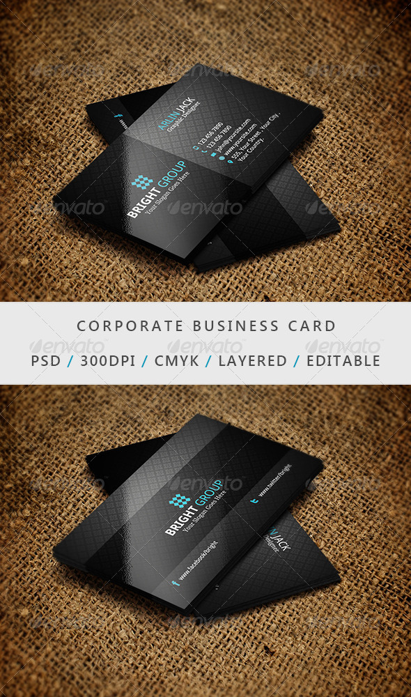 Business Card - 05 - Corporate Business Cards