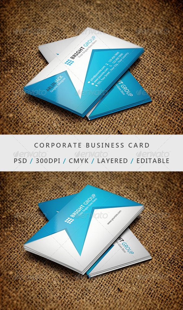 Business Card - 06 - Corporate Business Cards